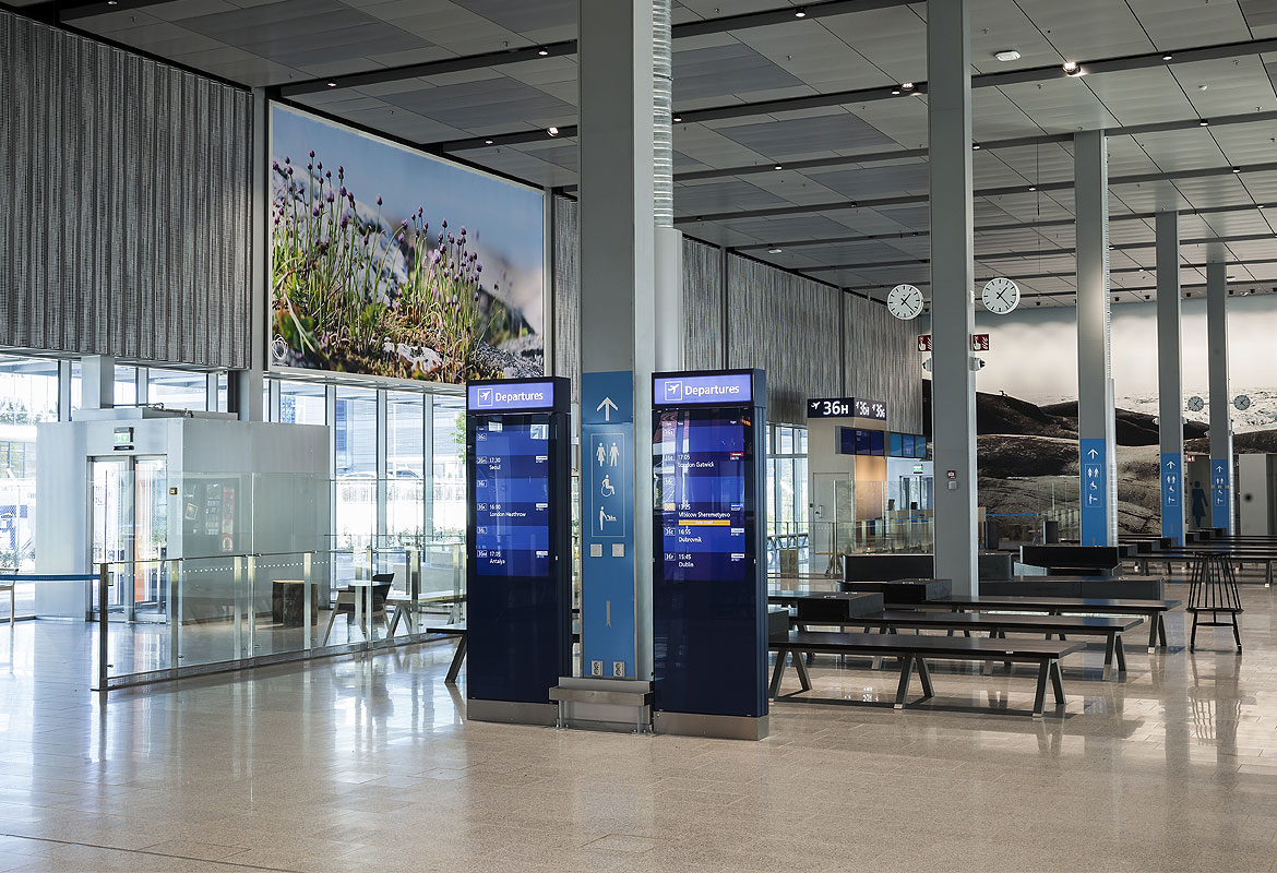 Helsinki Airport Extension 2020 | PES-Architects