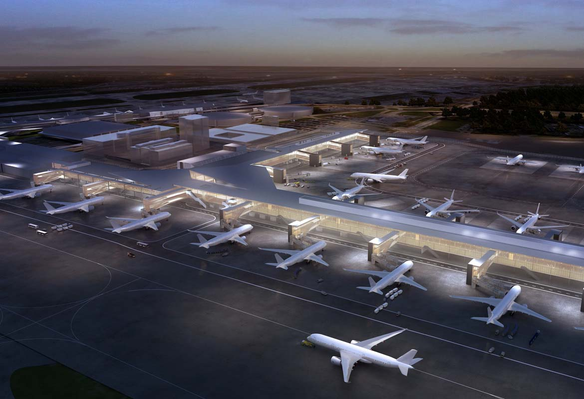 HELSINKI AIRPORT, TERMINAL EXPANSION 2015-2020 | PES-Architects
